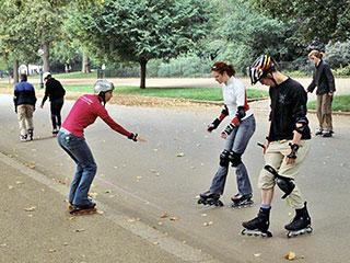 Rollerblading essex
