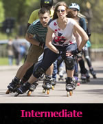 Intermediate skate lessons London